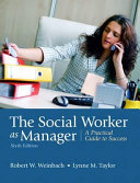The Social Worker as Manager