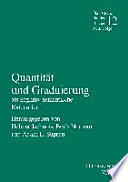 Quantit  t und Graduierung als kognitiv semantische Kategorien
