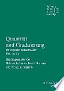 Quantität und Graduierung als kognitiv-semantische Kategorien