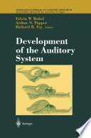 Development of the Auditory System