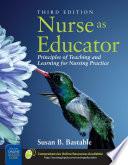 Nurse As Educator