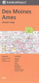 Rand Mcnally Des Moines ames  Ia Street Map