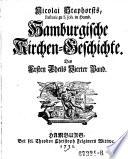 Hamburgische Kirchen-Geschichte