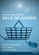 Atiyah and Adams  Sale of Goods