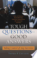Tough Questions  good Answers