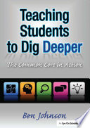 Teaching Students to Dig Deeper