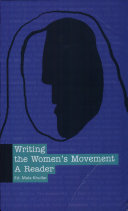 Writing the Women's Movement