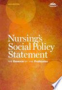 Nursing s Social Policy Statement