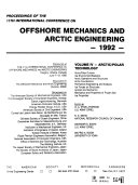 Proceedings of the     International Conference on Offshore Mechanics and Arctic Engineering
