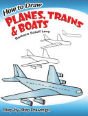 How To Draw Planes Trains And Boats