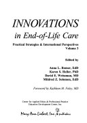Innovations In End Of Life Care
