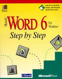 Microsoft Word 6 for Windows Step by Step