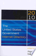 The United States Government Internet Directory book