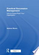 Practical Succession Management