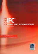 Ifc Code and Commentary 2012