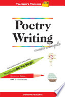 Poetry Writing Made Simple 1 Teacher s Toolbox Series