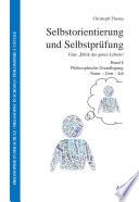 Selbstorientierung und Selbstprüfung