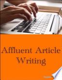 Affluent Article Writing