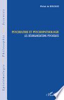 Psychiatrie et psychopathologie