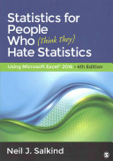 Bundle  Salkind  Statistics for People Who  Think They  Hate Statistics 4e   Salkind  Excel Statistics 3e