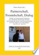 Partnerschaft, Freundschaft, Dialog