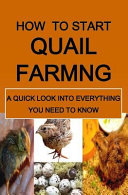download ebook how to start quail farming pdf epub