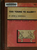 Book Too Young to Marry?