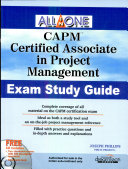 Capm All In One Exam Study Guide  W Cd