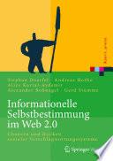 Informationelle Selbstbestimmung im Web 2.0
