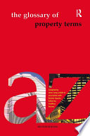Glossary of Property Terms