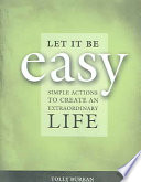 Let It Be Easy Book PDF