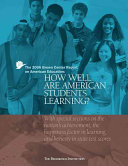 How Well Are American Students Learning  book