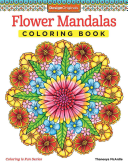 Flower Mandalas Coloring Book : of these symmetrical circles offers an intimate...