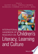 International Handbook of Research on Children s Literacy  Learning and Culture