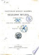 A Nagyváradi királyi akadémia százados multja 1788-tól 188-ig