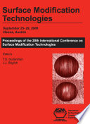Surface Modification Technologies  Proceedings of the 20th International Conference on Surface Modification Technologies
