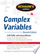 Schaum s Outline of Complex Variables  2ed