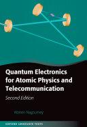 download ebook quantum electronics for atomic physics and telecommunication pdf epub