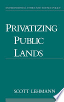 Privatizing Public Lands