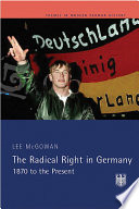 The Radical Right in Germany