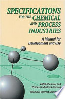 Specifications For The Chemical And Process Industries