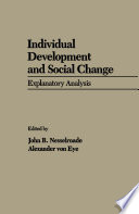 Individual Development and Social Change