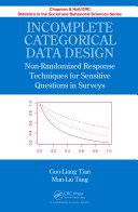 Incomplete Categorical Data Design