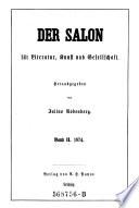 """""""Der"""" Salon für Literatur, Kunst und Gesellschaft"""