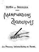 Manipulations zoologiques