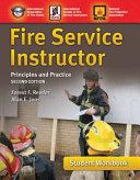Fire Service Instructor Student Workbook