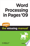 word processing in pages 09 the mini missing manual