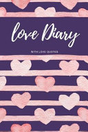 Love Diary with Love Quotes