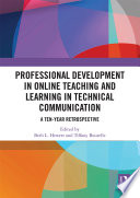 Professional Development In Online Teaching And Learning In Technical Communication