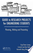 Guide to Research Projects for Engineering Students